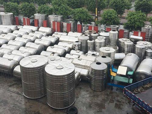 圆形锈钢水箱